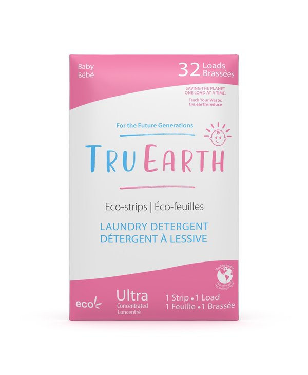 Laundry Detergent Eco-Strips Baby 32 Loads