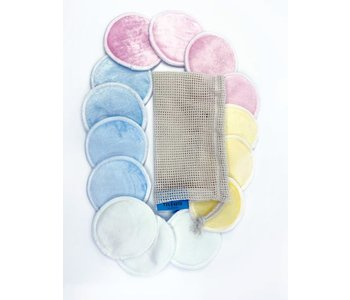 Bamboo Rounds Reusable Make Remover Pads