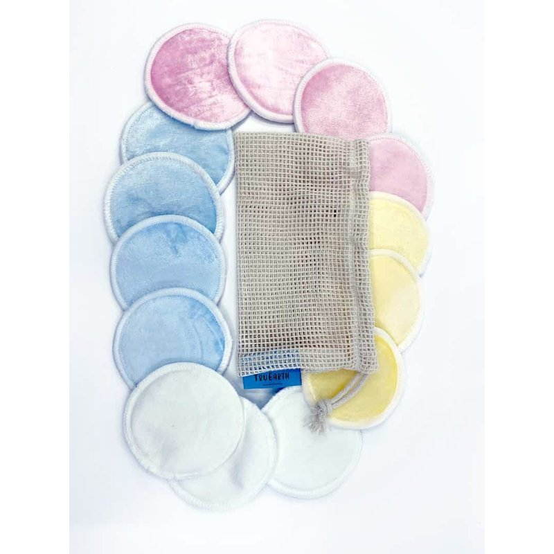 Tru Earth Bamboo Rounds Reusable Make Remover Pads