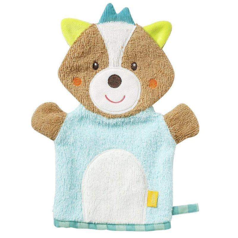 Fehn Baby Bath Mitt Baby Fox