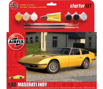 Airfix Model 1/32 Starter Set Maserati