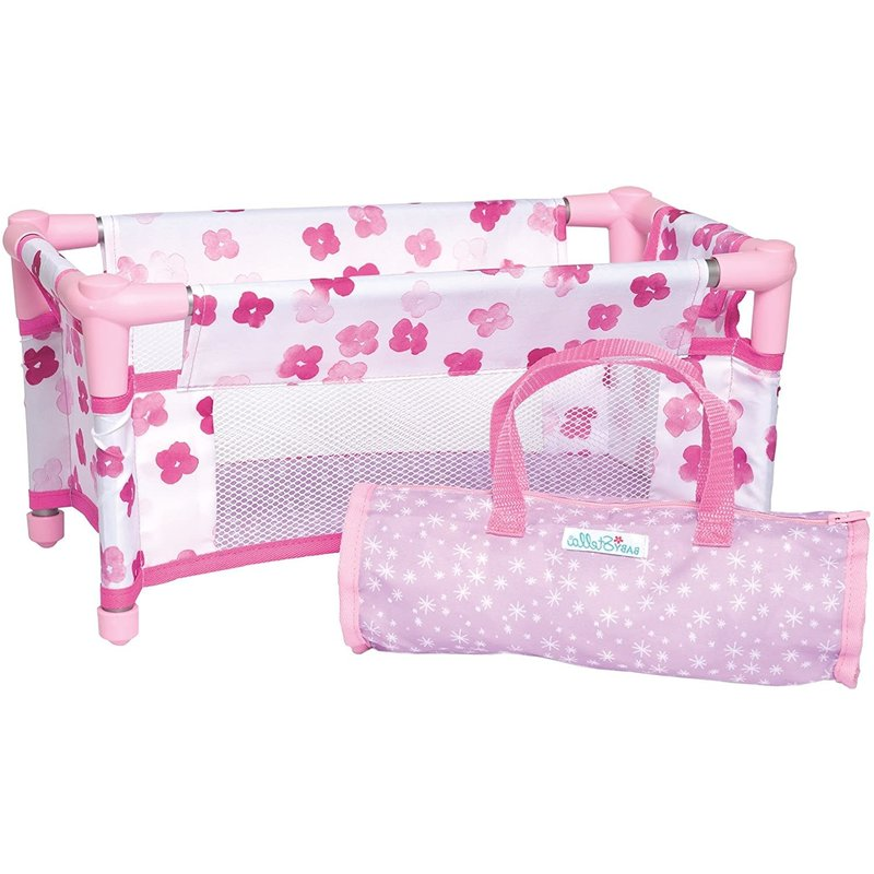 Baby Stella Doll Baby Stella Take A Long Travel Crib