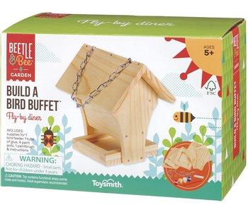 Beetle & Bee Build a Bird Buffet