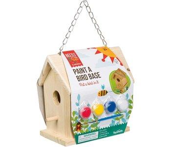 Beetle & Bee Paint a Bird Base House