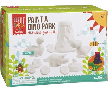 Beetle & Bee Paint a Dino Park