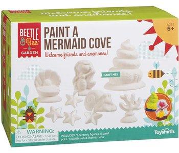 Beetle & Bee Paint a Mermaid Cove