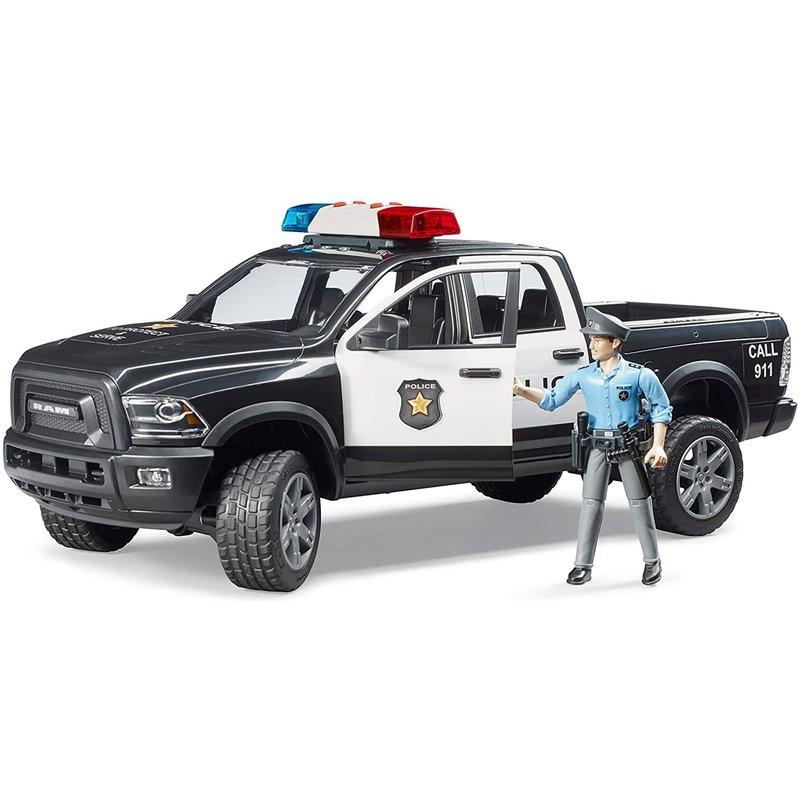 Bruder Bruder Dodge Ram Police Truck with Policeman