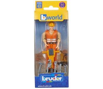 Bruder Figure Construction Worker