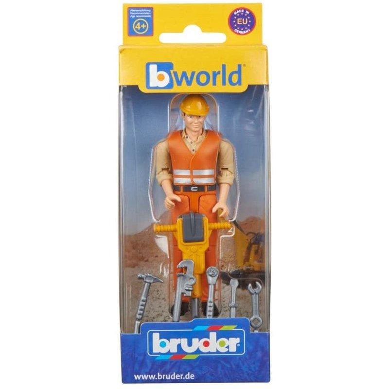 Bruder Bruder Figure Construction Worker