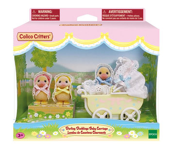 Calico Critters Darling Ducklings Carriage