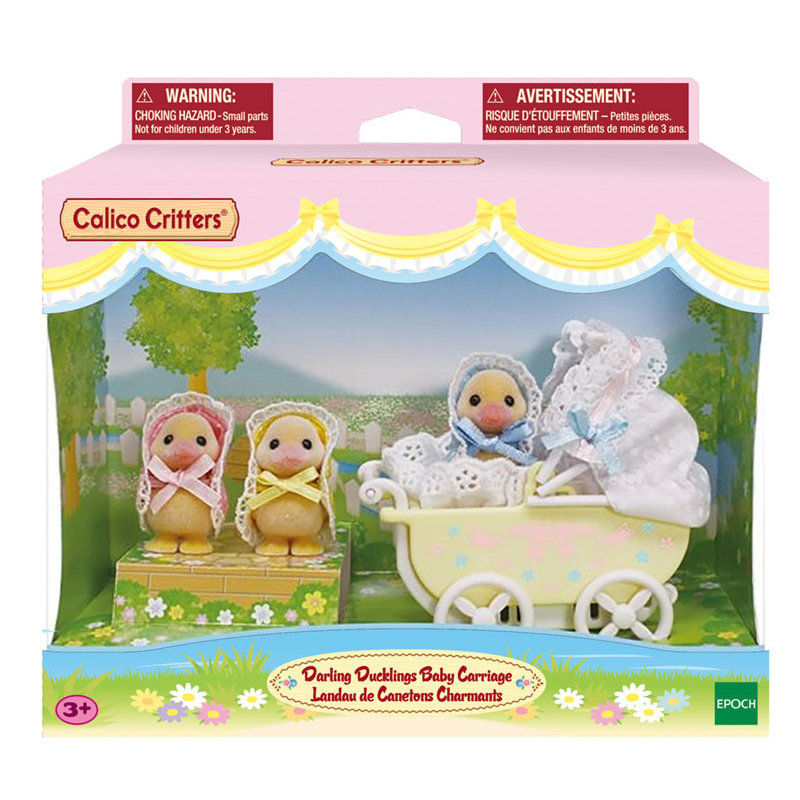 Calico Critters Calico Critters Darling Ducklings Carriage
