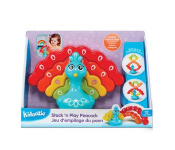 Kidoozie Stack 'n Play Peacock