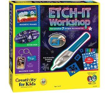 Creativity Craft Etch It Workshop