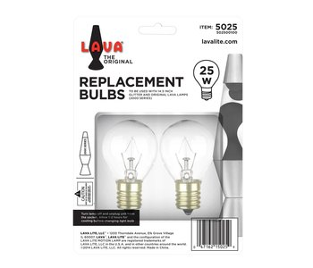 """Lava Lamp Replacement Bulb 14.5"""" 25W"""