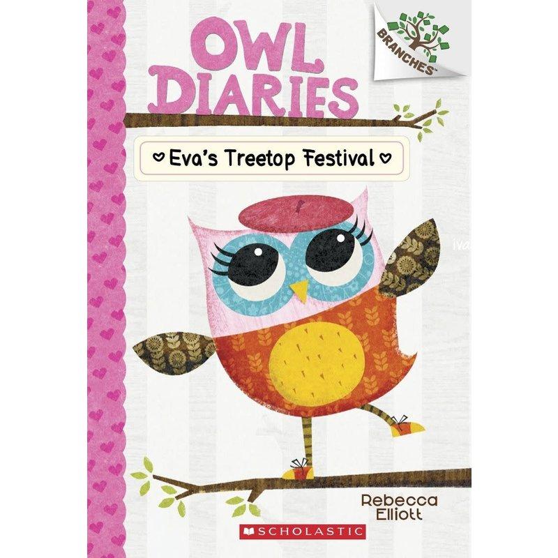 Scholastic A Branches Bookl Owl Diaries #1 Eva's Treetop Festival