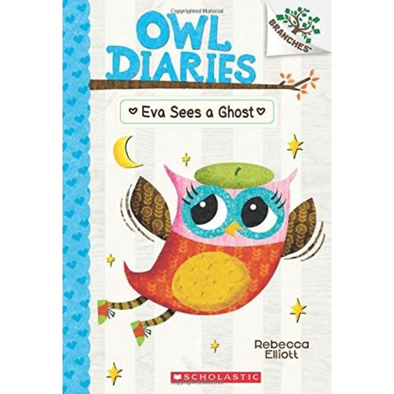 Scholastic A Branches Book Owl Diaries #2 Eva Sees a Ghost