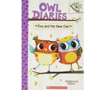A Branches Book Owl Diaries #4 Eva and the new Owl