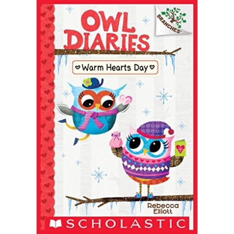 Scholastic A Branches Book Owl Diaries #5 Warm Heart Days