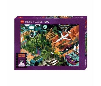 Heye Puzzle 1000pc Movie Masters - Speilberg