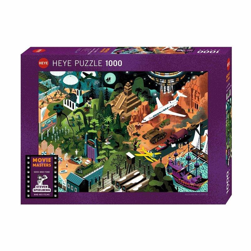 Heye Heye Puzzle 1000pc Movie Masters - Speilberg