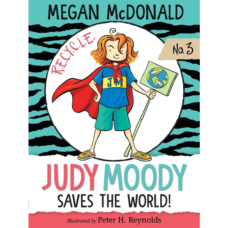 Candlewick Press Judy Moody Book Series #3 Saves the World