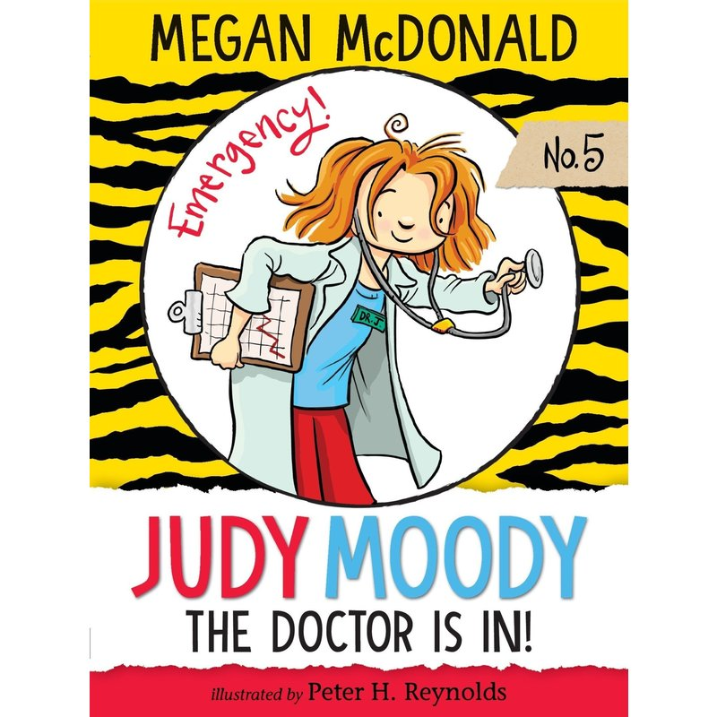 Candlewick Press Judy Moody Book Series #5 The Doctor is In!