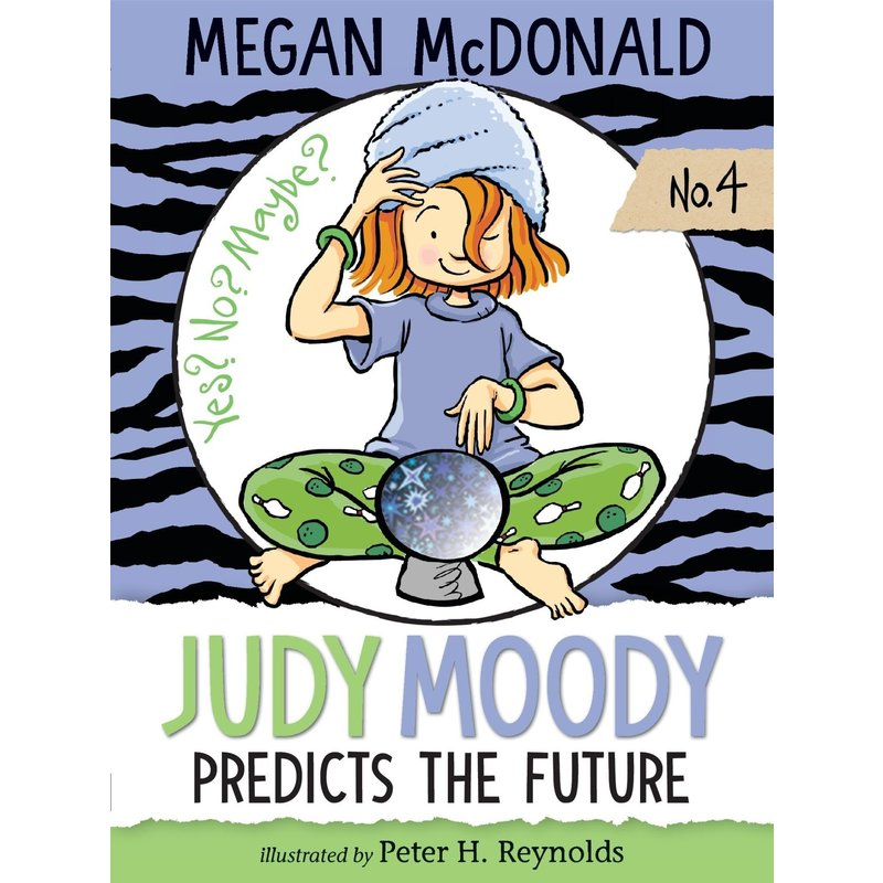 Candlewick Press Judy Moody Book Series #4 Predicts the Future