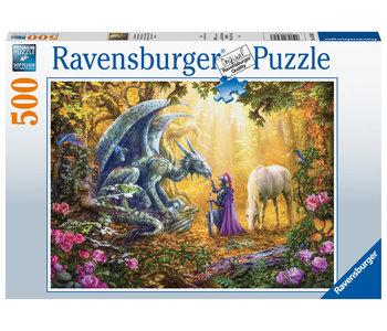 Ravensburger Puzzle 500pc Dragon Whisperer