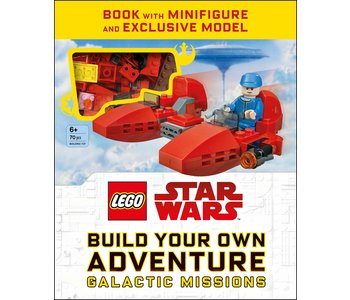 Lego Build Your Own Adventure Star Wars Book