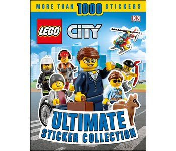 Ultimate Sticker Collection: Lego City Mini Figures
