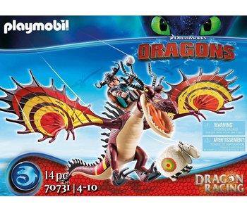 Playmobil Dragons Racing: Snotlout and Hookfang