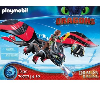 Playmobil Dragons Racing: Hiccup and Toothless