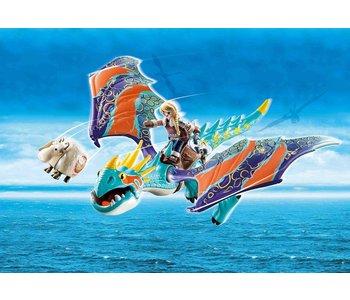 Playmobil Dragons Racing: Astrid and Stormfly