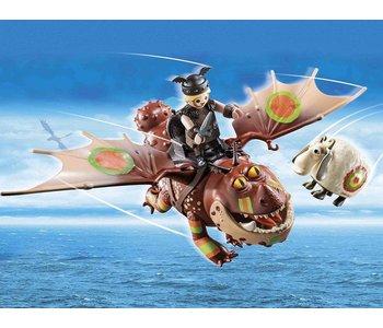 Playmobil Dragons Racing: Fishlegs and Meatlug