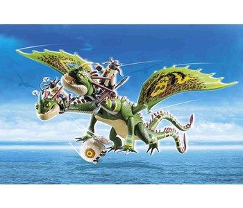 Playmobil Dragons Racing: Ruffnut and Tuffnut
