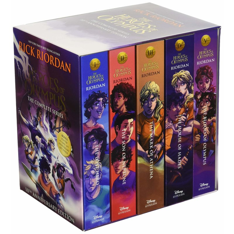 Disney-Hyperion Heroes of Olympus 5 Book Boxed Set