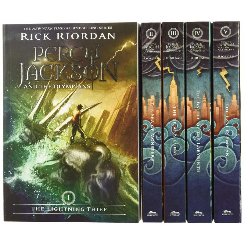 Disney-Hyperion Percy Jackson 5 Book Box Set