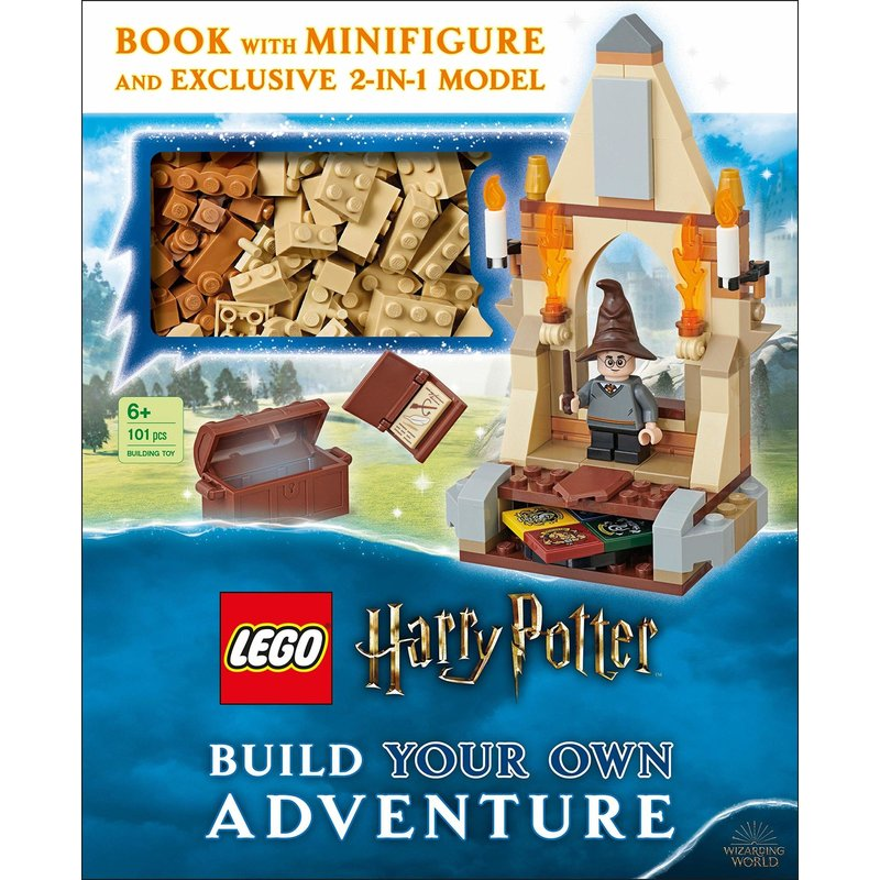 DK Lego Build Your Own Adventure Harry Potter Book