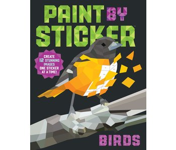 Paint by Stickers: Birds