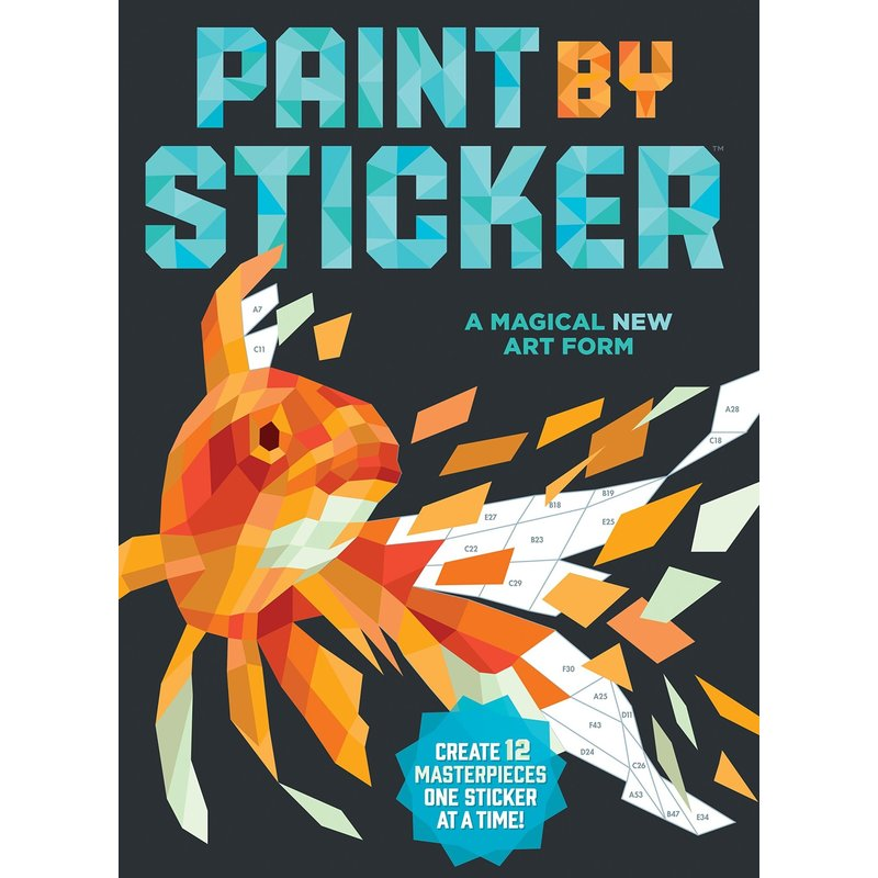 Workman Publishing Paint by Stickers Masterpieces