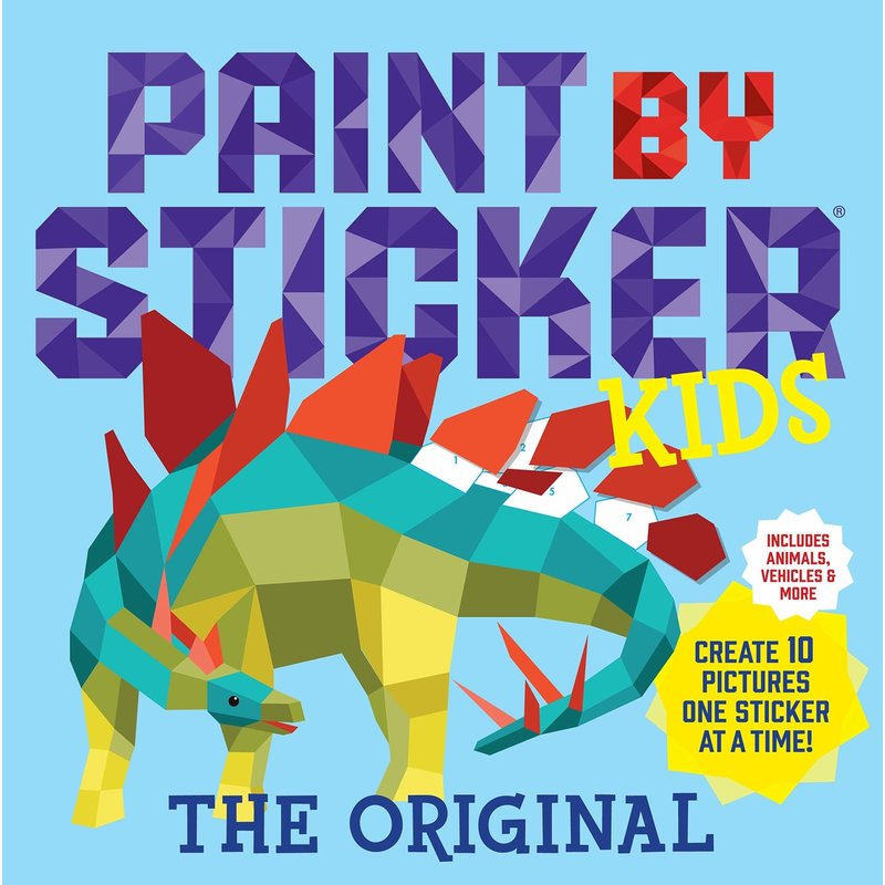 Workman Publishing Paint by Stickers Kids