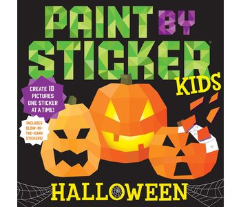 Paint by Stickers Kids :Halloween