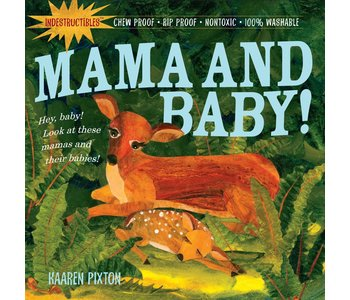 Indestructibles Mama and Baby Book