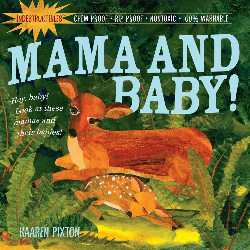 Workman Publishing Indestructibles Mama and Baby Book