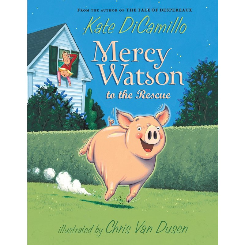Candlewick Press Mercy Watson #1 To The Rescue