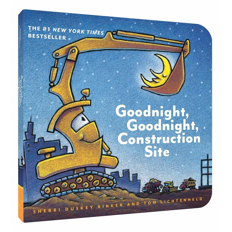Chronicle Books Goodnight Goodnight Construction Site Board Book