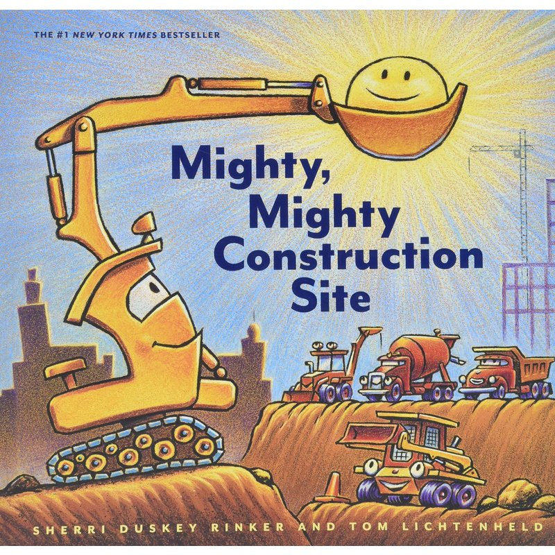 Chronicle Books Mighty Mighty Construction Site