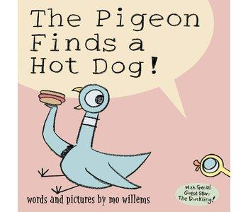 Pigeon Finds A Hotdog