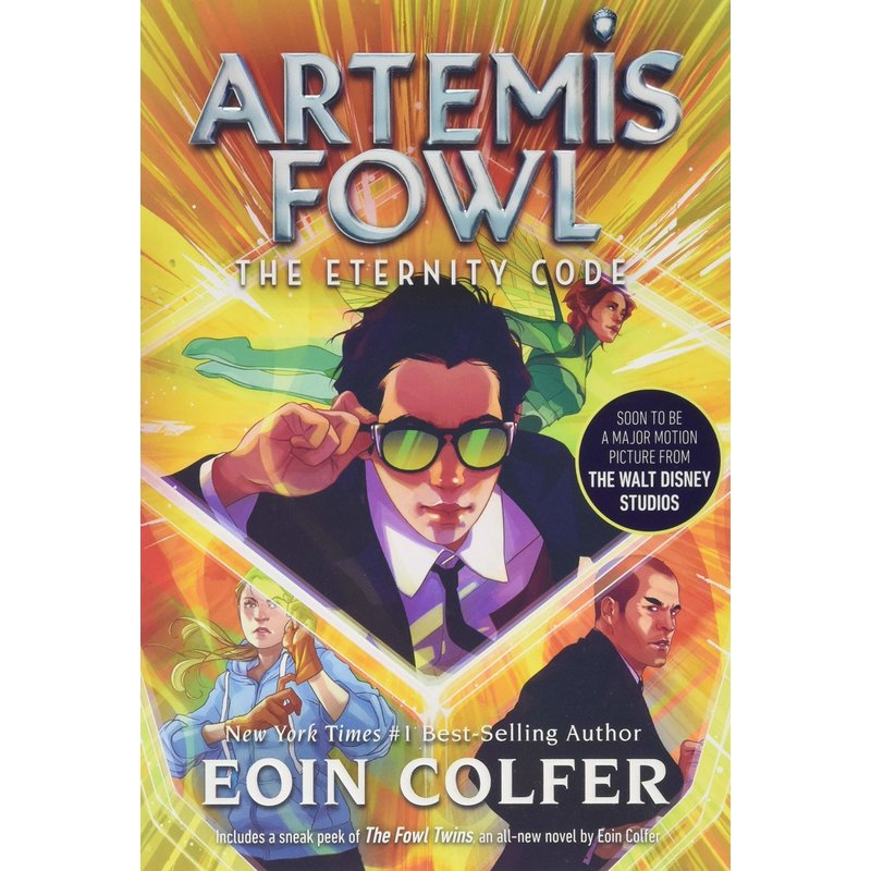 Disney-Hyperion Artemis Fowl Book 3 The Eternity Code