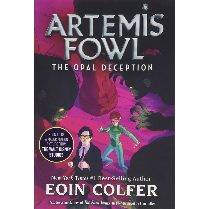 Disney-Hyperion Artemis Fowl Book 4 The Opal Deception